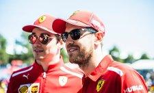 Jak se Ferrari dohodlo před závodem?