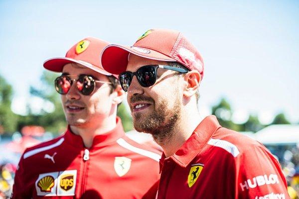 Podle Leclerka Vettel chápe svou chybu