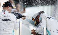 Mercedes by úvodní úsek ještě natáhl