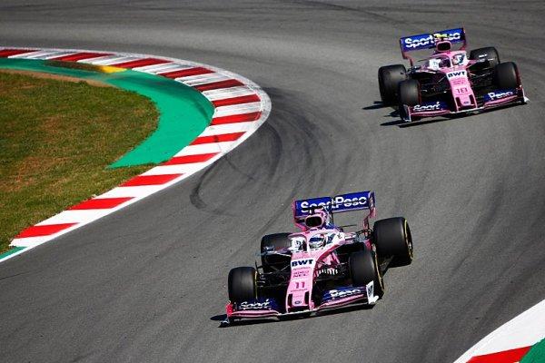 Racing Point slibuje ještě před pauzou skoro nové auto