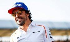 Alonso se vrací do oranžového auta