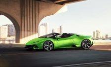 Lamborghini Huracán EVO shodí střechu