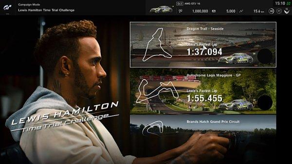 Hamiltona lze vyzvat v GT Sport