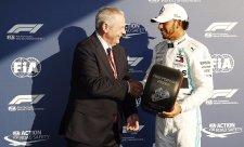 Další Hamiltonův zápis do historie F1
