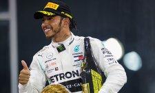 Hamilton překonal bodový rekord za sezonu