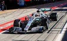 Mercedes se vzpamatovává z poruchy motoru