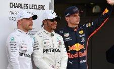 Bottas a Verstappen měli společný problém