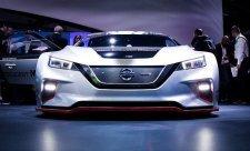 Závodní Nissan Leaf
