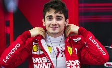 Leclerc je 50. jezdcem Ferrari v čele závodu