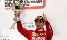 Leclerc dojížděl v Bahrajnu na pět válců