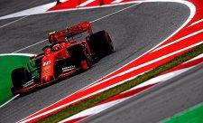Leclerc si postěžoval na pneumatiky