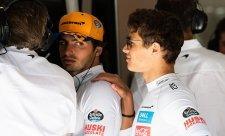 Souboj týmových kolegů – Sainz versus Norris