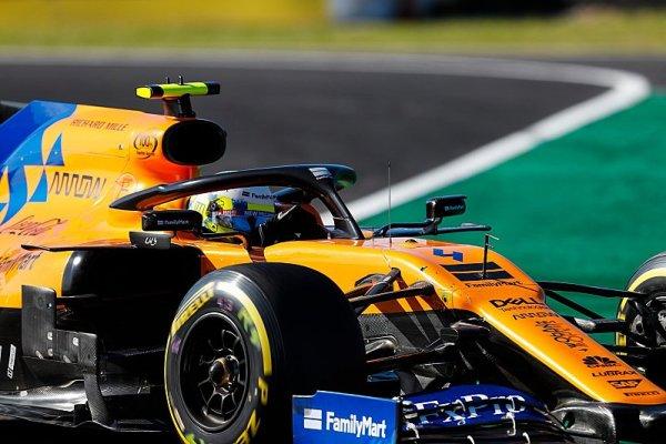Norrisovi zničil závod Leclerc, ne Albon
