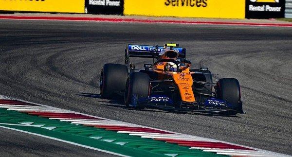 Norris byl nejrychlejší v první části kvalifikace