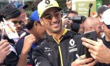 Ricciardo vyhrál zpět svých 1000 eur