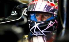 Grosjean nešťastný, nové zavěšení dostal Magnussen