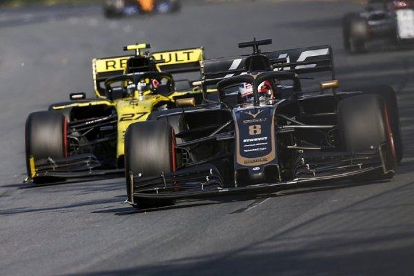 Grosjean nasadí aerodynamiku z Melbourne