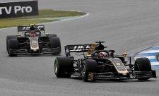 Magnussen z kolize obvinil Grosjeana
