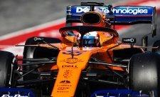 McLaren zpět na chvostu