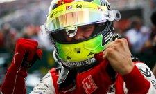 Schumacher vyhrál svůj první závod ve druhé lize