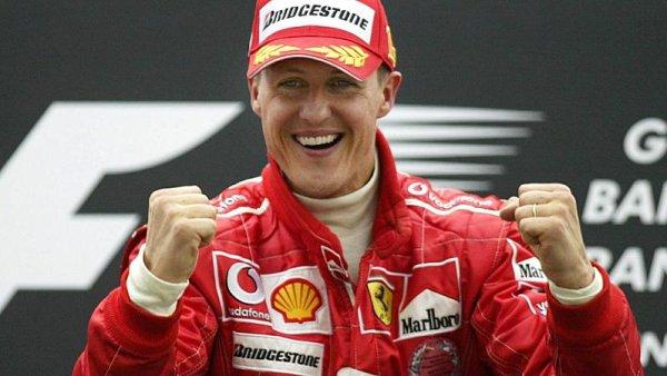 Schumacher získal třetinu všech triumfů Ferrari