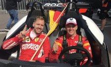 Schumacher by byl na syna hrdý