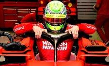 Schumacher málem nejrychlejší, ale…