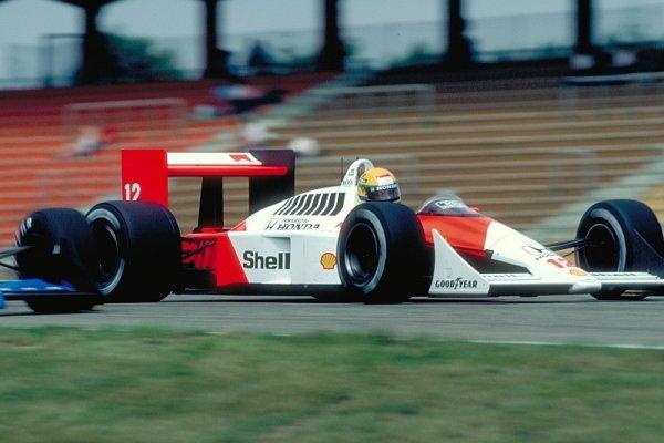 Ayrton Senna byl mistrem sólových jízd