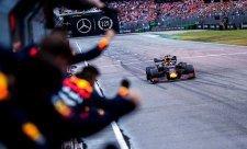 Verstappen vyhrál a ještě stihl pobavit diváky