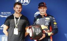 Verstappen je stým jezdcem na pole position