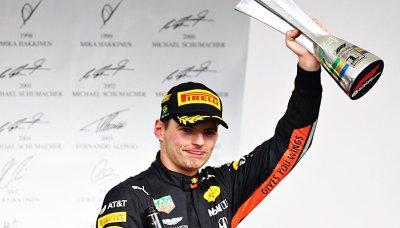 Verstappen chválí tým za zvolenou strategii
