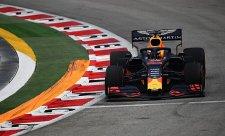Singapurský víkend zahájil nejlépe Verstappen