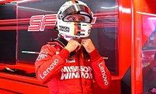 Vettel stál posté v první řadě na startu