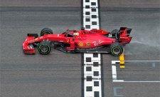Vettel dojel podruhé z poslední pozice na pódium