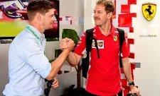 Vettel používal dvacet let starý telefon