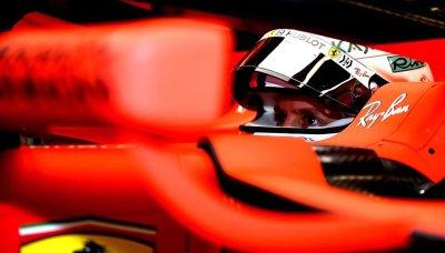 Vettel s Ferrari ještě o budoucnosti nemluvil