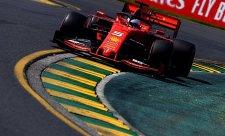 Ferrari nemělo problém, jen bylo pomalé