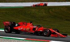 Vettel si myslí, že ztráta na Mercedes je reálná
