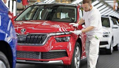 Výroba Škoda Auto v roce 2019