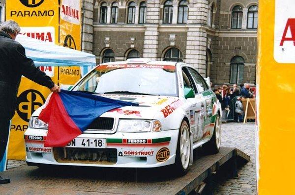 Když se Kresta učil krotit WRC