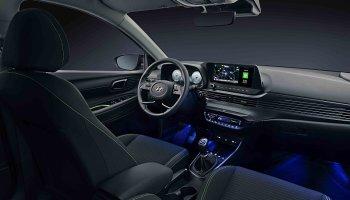 Pohled do interiéru nového Hyundaie i20