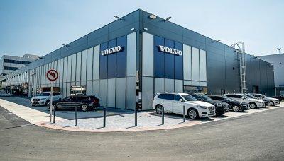 Nové Volvo v pražských Vysočanech