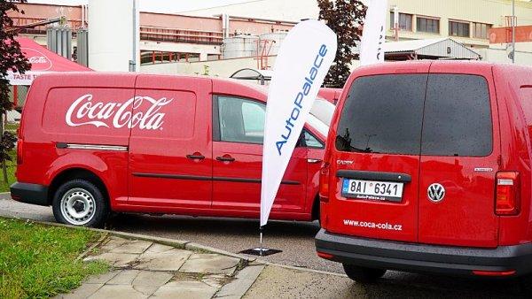 Coca-Cola se bude vozit ve VW Caddy na CNG