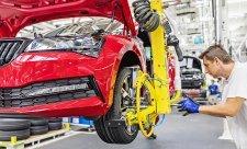 Globální autoprůmysl se může propadnout až o 75 %