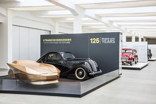Jubilejní výstava ve Škoda Muzeu