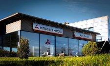 Nová prodejna Mitsubishi v Praze