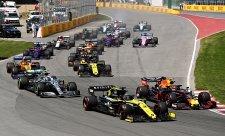 Nová éra formule 1 má zelenou