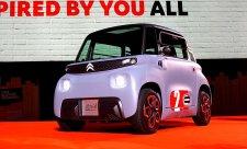 Malý elektrický přítel Citroën Ami