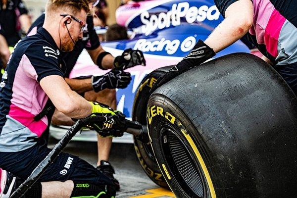 Stejné pneumatiky, rychlejší auta