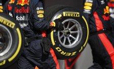 Pirelli vybralo směsi pro celou sezonu 2021